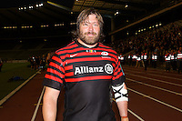 20121020 Copyright onEdition 2012©.Free for editorial use image, please credit: onEdition..Carlos Nieto of Saracens after the Heineken Cup Round 2 match between Saracens and Racing Metro 92 at the King Baudouin Stadium, Brussels on Saturday 20th October 2012 (Photo by Rob Munro)..For press contacts contact: Sam Feasey at brandRapport on M: +44 (0)7717 757114 E: SFeasey@brand-rapport.com..If you require a higher resolution image or you have any other onEdition photographic enquiries, please contact onEdition on 0845 900 2 900 or email info@onEdition.com.This image is copyright the onEdition 2012©..This image has been supplied by onEdition and must be credited onEdition. The author is asserting his full Moral rights in relation to the publication of this image. Rights for onward transmission of any image or file is not granted or implied. Changing or deleting Copyright information is illegal as specified in the Copyright, Design and Patents Act 1988. If you are in any way unsure of your right to publish this image please contact onEdition on 0845 900 2 900 or email info@onEdition.com