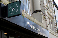 Pictured: A general view of Waterstones in Swansea City Centre during the Covid-19 Coronavirus pandemic in Wales, UK, Swansea, Wales, UK. Monday 23 March 2020