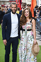 """Chris Overton and Rachel Shenton<br /> The premiere of """"The Festival"""" at Cineworld Leicester Square<br /> <br /> ©Ash Knotek  D3419  13/08/2018"""