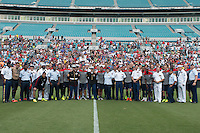 Jacksonville, Fla. - Friday, June 6, 2014: The USMNT during training at EverBank Field.