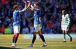 12.05.2019 Rangers v Celtic: Nikola Katic and James Tavernier