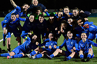 Winfie KRC Genk pictured during a female soccer game between  Racing Genk Ladies and SV Zulte-Waregem on the 7 th matchday of play off 2 in the 2020 - 2021 season of Belgian Scooore Womens Super League , friday 14 th of May 2021  in Genk , Belgium . PHOTO SPORTPIX.BE   SPP   JILL DELSAUX