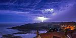 270517 Lightning storm Swansea