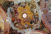 Krypta des Klosters in Kreszow (Grüssau), Woiwodschaft Niederschlesien (Województwo dolnośląskie), Polen, Europa<br /> crypt of Kreszow monastery, Poland, Europe