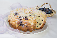 Blueberry Pound Cak