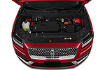 Car Stock 2020 Lincoln Nautilus Base 5 Door SUV Engine  high angle detail view