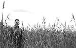 Sascha Arango, deutscher Drehbuchautor, Schriftsteller, Autor, Grimme-Preistraeger, Portrait, Einzelportrait, Medien, Literatur, Europa, Deutschland, Brandenburg, Tremsdorf, 24.06.2014<br /> <br /> Engl.: Screen writer Sascha Arango, [here: at his house in Tremsdorf, 25km south of Berlin] author of TATORT films, literature, culture, portrait, film, german, germany, europe, media, June 24, 2014
