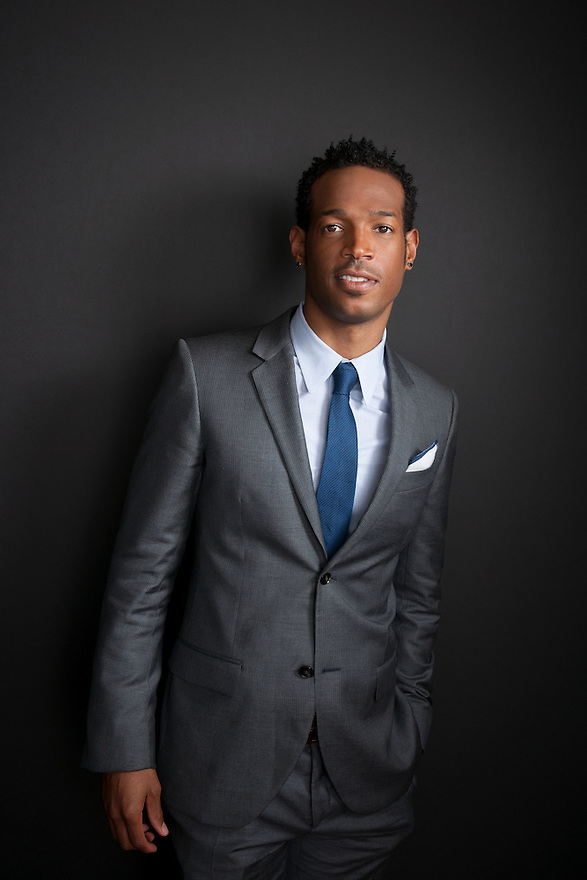 Marlon Wayans photographed for 'Art & Soul' at the Library of Congress