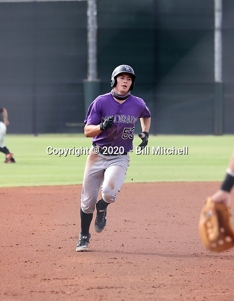 Michael Toglia - 2020 AIL Rockies (Bill Mitchell)