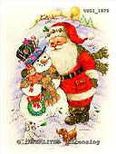 GIORDANO, CHRISTMAS SANTA, SNOWMAN, WEIHNACHTSMÄNNER, SCHNEEMÄNNER, PAPÁ NOEL, MUÑECOS DE NIEVE, paintings+++++,USGI1870,#X#