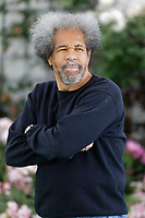 Pictured: Albert Woodfox, who spent 40 years in a jail in the USA. Friday 31 May 2019<br /> Re: Hay Festival, Hay on Wye, Wales, UK.
