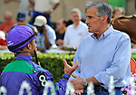 11 February 05: Javier Castellano and Bobby Ribaudo at Gulfstream Park in Hallandale Beach, Florida on Donn Handicap Day.  (Bob Mayberger/Eclipse Sportswire)