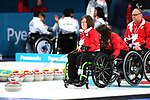 Marie Wright, PyeongChang 2018 - Wheelchair Curling // Curling en fauteuil roulant.<br /> Canada plays Sweden in Wheelchair curling // Le Canada affronte la Suède au curling en fauteuil roulant.<br /> 11/03/2018.