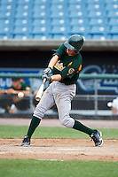 Chase Hamilton #26 of Arlington High School in Arlington, Tennessee playing for the Oakland Athletics scout team during the East Coast Pro Showcase at Alliance Bank Stadium on August 3, 2012 in Syracuse, New York.  (Mike Janes/Four Seam Images)