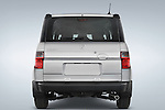 Straight rear view of a 2008 Honda Element EX SUV