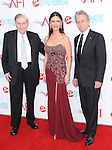 Sumner Redstone,Catherine Zeta-Jones & Michael Douglas at The 37th AFI Life Achievement Award held at Sony Picture Studios  in Culver City, California on June 11,2009 and will air on TV Land July 19th,2009 at 9:00 PM ET/PT                                                                    Copyright 2009 DVS / RockinExposures