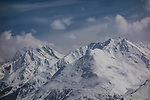 The Alps at St Anton Ski Area, Austria,