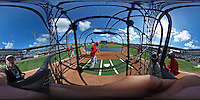 15 March 2016: Washington Nationals outfielder Michael Taylor takes batting practice prior to a Spring Training pre-season game against the Houston Astros at Osceola County Stadium in Kissimmee, Florida. The Nationals defeated the Astros 6-4 in Grapefruit League play. Mandatory Credit: Ed Wolfstein Photo *** RAW (NEF) Image File Available ***