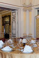 Elisabethsaal im Restaurant Gundel im Stadtwäldchen, Gúndel Karoly út, Budapest, Ungarn