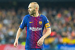 Andres Iniesta Lujan of FC Barcelona is seen during the La Liga 2017-18 match between Valencia CF and FC Barcelona at Estadio de Mestalla on November 26 2017 in Valencia, Spain. Photo by Maria Jose Segovia Carmona / Power Sport Images