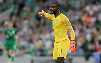 Dublin, Ireland - Saturday June 02, 2018: Bill Hamid during an international friendly match between the men's national teams of the United States (USA) and Republic of Ireland (IRE) at Aviva Stadium.