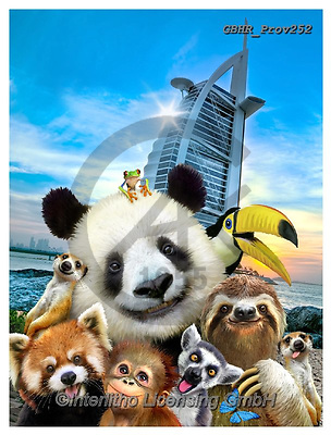 Howard, REALISTIC ANIMALS, REALISTISCHE TIERE, ANIMALES REALISTICOS, selfies,panda,burj al arab, paintings+++++,GBHRPROV252,#a#, EVERYDAY