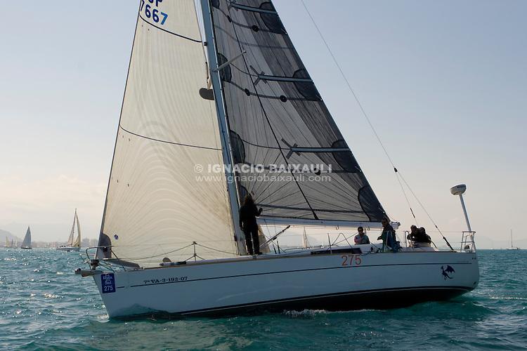 ESP 7667 BLUE DRAGON Luis Gutierrez 40S RCN Valencia .Salida de la 22 Ruta de la Sal 2009 Versión Este, Denia, Alicante, España