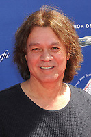 06 October 2020 - Eddie Van Halen, legendary Hall of Fame Guitarist and co-founder of Van Halen -- has died after a long battle with throat cancer at the age of 65. File Photo: 10 March 2013 - Beverly Hills, California - Eddie Van Halen. 10th Annual John Varvatos Stuart House Benefit held at John Varvatos Boutique. Photo Credit: Byron Purvis/AdMedia