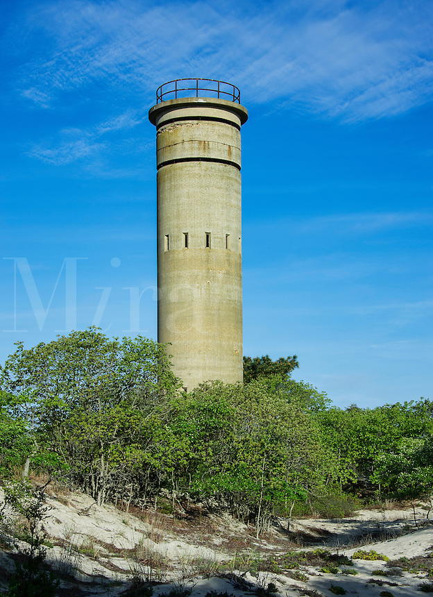 Observation Tower from WW II, Cape Henlopen State Park, Lewes, delaware, USA