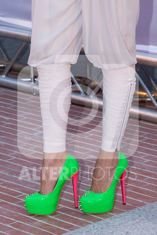 03.09.2012. Celebrities attending the Alvarno fashion show during the OFF Mercedes-Benz Fashion Week Madrid Spring/Summer 2013 at Museo Lazaro Galdiano. (Alterphotos/Marta Gonzalez)