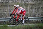 Polka Dot Jersey Anthony Perez (FRA) Cofidis during Stage 5 of Paris-Nice 2021, running 200km from Vienne to Bollene, France. 11th March 2021.<br /> Picture: ASO/Fabien Boukla   Cyclefile<br /> <br /> All photos usage must carry mandatory copyright credit (© Cyclefile   ASO/Fabien Boukla)