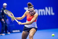 Rotterdam, Netherlands, December 16, 2017, Topsportcentrum, Ned. Loterij NK Tennis, Womans double final: Rosalie van der Hoek (NED) <br /> Photo: Tennisimages/Henk Koster