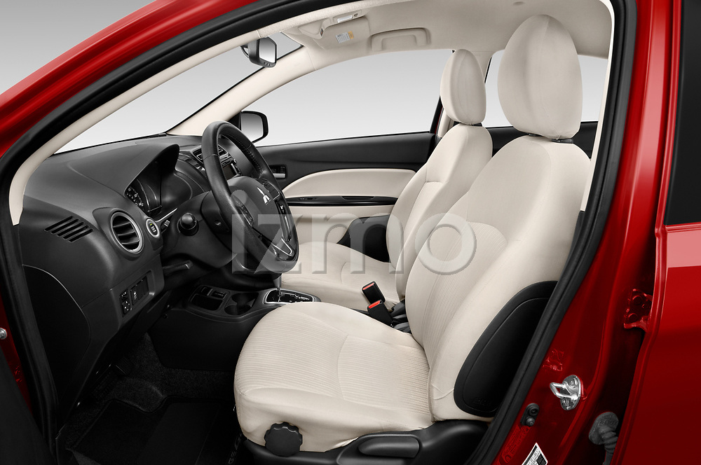 Front seat view of 2020 Mitsubishi Mirage-G4 SE 4 Door Sedan Front Seat  car photos