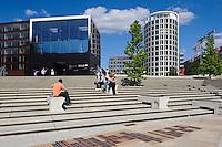 Magellan-Terrassen  in der Hafencity,  Hamburg,  Deutschland