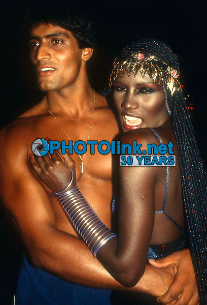 Grace Jones4813.JPG<br /> Celebrity Archaeology<br /> 1978 FILE PHOTO<br /> New York, NY<br /> Grace Jones at Studio 54<br /> Photo by Adam Scull-PHOTOlink.net