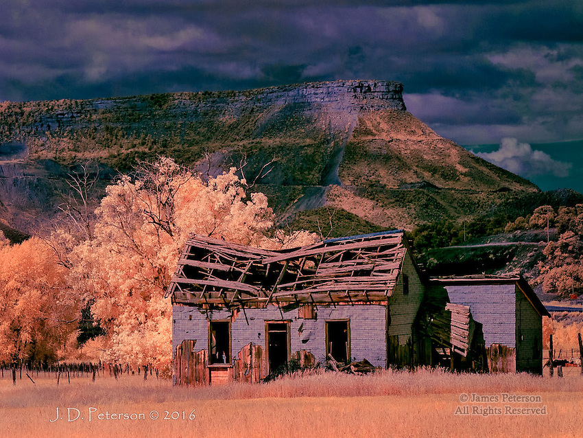 Paradise Misplaced #6 - Mancos, Colorado (Infrared).<br />