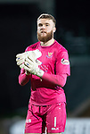 St Johnstone v Kilmarnock…24.11.18…   McDiarmid Park    SPFL<br />Saints keeper Zander Clark applauds th fans after keeping another clean sheet<br />Picture by Graeme Hart. <br />Copyright Perthshire Picture Agency<br />Tel: 01738 623350  Mobile: 07990 594431
