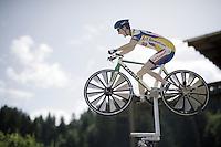 roadside cyclo creativity<br /> <br /> Stage 18 (ITT) - Sallanches › Megève (17km)<br /> 103rd Tour de France 2016