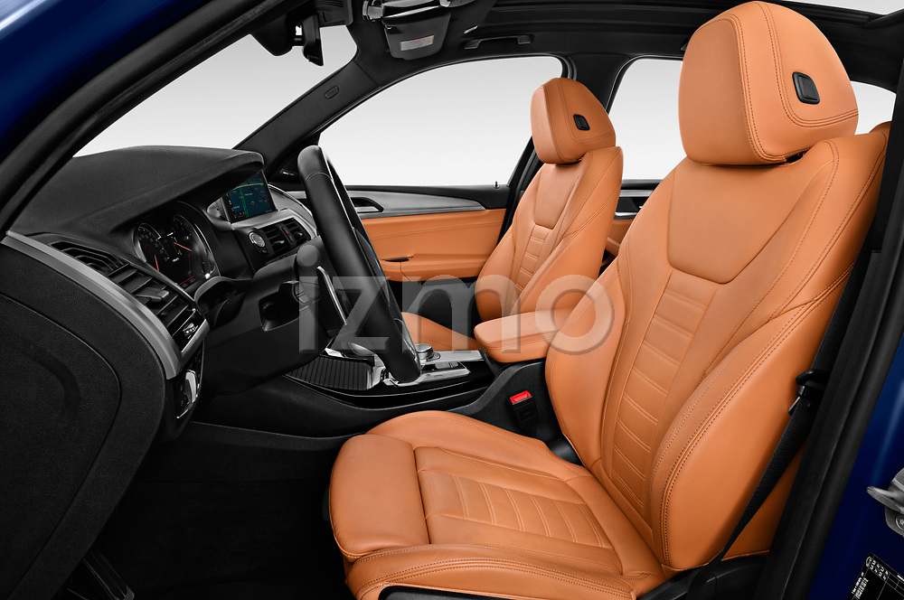 Front seat view of a 2018 BMW X3 base 5 Door SUV front seat car photos