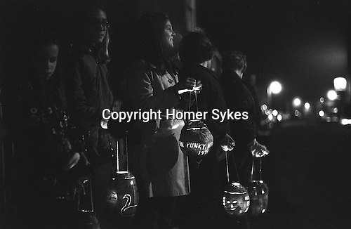Punky Night, Hinton St George, Somerset, England. 1974 Takes place last Thursday in October.