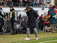Trainer Jesse Marsch (RB Salzburg) enttäuscht - 20.02.2020: Eintracht Frankfurt vs. RB Salzburg, UEFA Europa League, Hinspiel Round of 32, Commerzbank Arena DISCLAIMER: DFL regulations prohibit any use of photographs as image sequences and/or quasi-video.