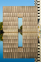Oklahoma City, Oklahoma, USA.  OKC National Memorial Gate.