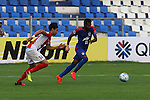 FW Vineeth (VINEETH) of SW Bengaluru FC (India) leading the ball during match AFCCQF1 – AFC Cup 2016 Quarter Finals<br /> JSWBENGALURUFC(IND) – JSW Bengaluru FC (India)<br /> vs<br /> TAMPINESROVERS(SIN) – Tampines Rovers (Singapore)<br /> at Kanteerava Stadium, Bangalore, Karnataka on 14th Septembar 2016.<br /> Photo by Saikat Das/Lagardere Sports