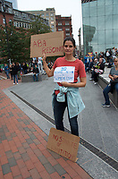 Tell Flake to Reject Kavanaugh rally at Boston City Hall Plaza 10.1.18 Vote No on Kavanaugh confirmation demonstration at City Hall Plaza Boston MA 10.1.18