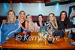 Enjoying the evening in Tatler Jacks in Killarney on Thursday, staff of UHK Radiology Dept, l to r: Roisin Mullins, Maeve O'Driscoll, Beatrice Fleming, Kate Ruschitzko, Carmel Courtney and Christine Quinlivan.