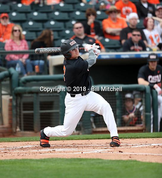 Cadyn Grenier - 2018 - Oregon State Beavers (Bill Mitchell)