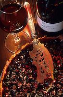 Europe/France/Centre/41/Loir-et-Cher/Sologne/Soings-en-Sologne : Domaine de la Charmoise - Tarte au gamay de Mme Marionnet et vin de touraine première vendange - Henri Marionnet 96