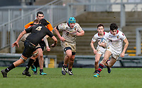 Tuesday 6th March 2019 | Ulster Schools Cup - Semi Final 1<br /> <br /> Michael Campbell during the Ulster Schools cup semi-final between Campbell College Belfast and the Royal School Armagh at Kingspan Stadium, Ravenhill Park, Belfast, Northern Ireland. Photo by John Dickson / DICKSONDIGITAL
