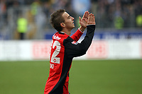 Faton Toski (EIntracht) jubelt ueber sein Tor zum 1:0<br /> Eintracht Frankfurt vs. VfL Bochum, Commerzbank Arena<br /> *** Local Caption *** Foto ist honorarpflichtig! zzgl. gesetzl. MwSt. Auf Anfrage in hoeherer Qualitaet/Aufloesung. Belegexemplar an: Marc Schueler, Am Ziegelfalltor 4, 64625 Bensheim, Tel. +49 (0) 6251 86 96 134, www.gameday-mediaservices.de. Email: marc.schueler@gameday-mediaservices.de, Bankverbindung: Volksbank Bergstrasse, Kto.: 151297, BLZ: 50960101