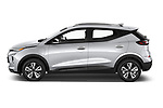 Car Driver side profile view of a 2022 Chevrolet Bolt-EUV LT 5 Door suv Side View